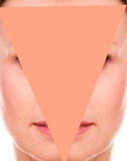 Tipps u. Tricks für dreieckige Gesichtsform