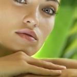 Hautpflege Falten