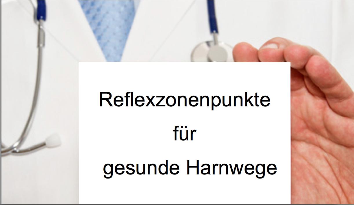 Reflexzonen für gesunde Harnwege | beauty blog: Haut