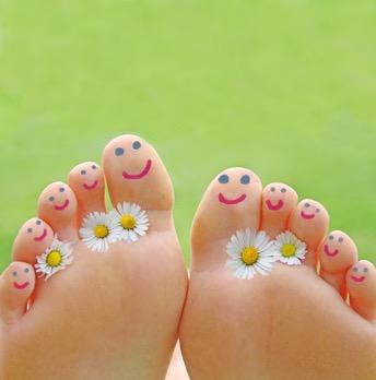 Entspannung Füße